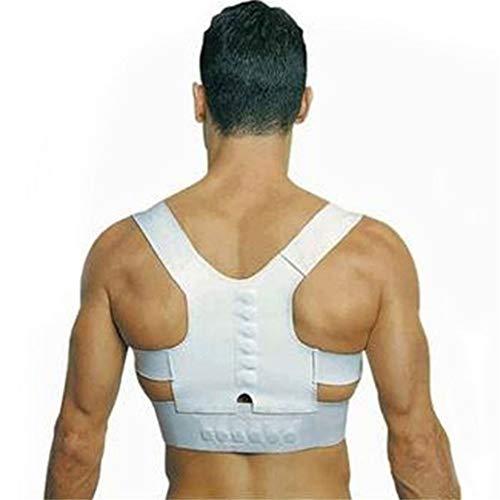 Mujeres Hombres Ortopédico Espalda Soporte lumbar Brace Corrector de  postura del hombro Entrenador de espalda recta