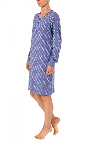 Normann Copenhagen -  Camicia da notte  - Donna Blau