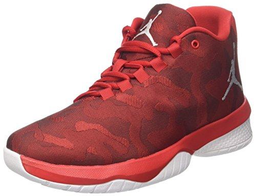 Nike jordan b. fly, scarpe da basket uomo, rosso (univ red/white), 42.5 eu