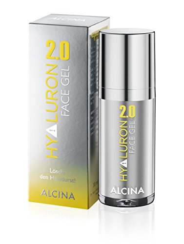 ALCINA Hyaluron 2.0 Face Gel, 1er Pack (1 x 30 ml)