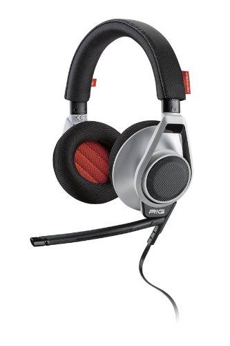 Plantronics RIG Wired Headphone (Black & White)