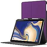 Forefront Cases Samsung Galaxy Tab S4 10.5 Hülle | Integrierter S-PEN Stifthalter & Stylusschutz | Magnetische Samsung Galaxy Tab S4 10.5 Zoll Tablet-PC SM-T830/T835 Cover | Automatische Schlaf-Wach-Funktion | Dünn Leicht | Violett