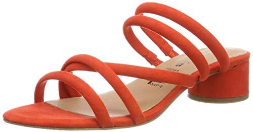 Tamaris Damen 1-1-27237-32 Pantoletten, (Orange 606), 40 EU