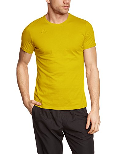 Erima Herren T-Shirt Teamsport, gelb, XL, 208336
