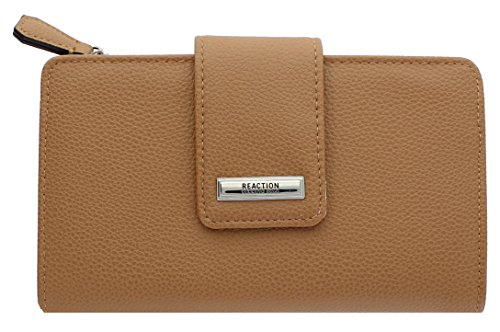 Kenneth Cole Reaction Whitney Women's Utility Clutch Wallet (TAN) (Kenneth Cole Clutch)