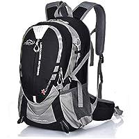 Preisvergleich für SeniorMar 25L Outdoor Bergsteigen Rucksack Wandern Camping Wasserdichtes Nylon Ergonomische Design Umhängetaschen Mit Brustgurt Gürtel