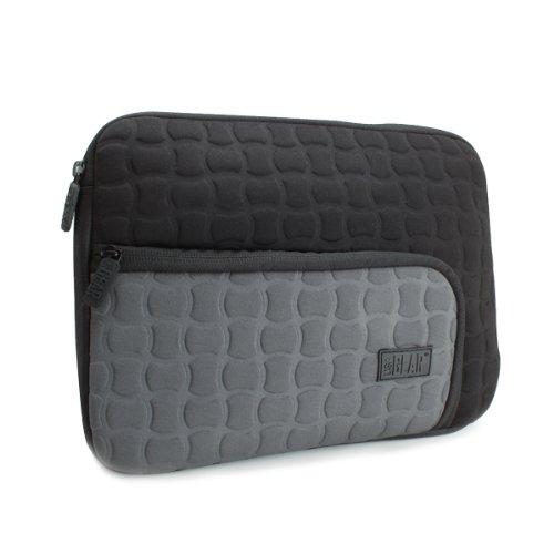 Accessory Power USA Gear Tablet Schutzhülle aus stoßdämpfendem Neopren & Aufbewahrungstasche, Schwarz & Grau (Usa Gear Tablet-schutzhülle)