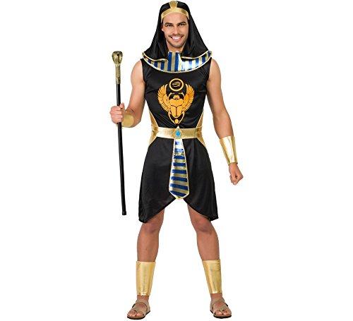 Zzcostumes Ägyptisches Kostüm Schwarz XL