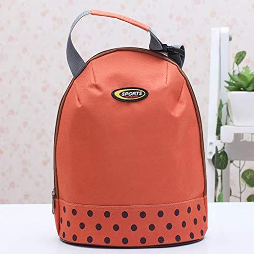 ert, CHshe Kühltasche Tragbare Leinwand Reißverschluss Lunchpaket Mittagessen Tasche Thermotasche Kühltasche Isoliertasche Für Strand/Picknick/Camping/Bbq/Wandern ()