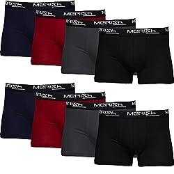 MERISH Boxershorts Men Herren 8er Pack Unterwäsche Unterhosen Männer 216b L