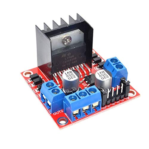 Ben-gi Stepper Motor Drive Controller Board Modul L298N verdoppeln H-Brücke DC Ersatz für Arduino -