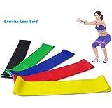 sunnymi Sammelgurt Fitness Gürtel,Stretch mit Einem Zuggurt,Latex,Resistance Band Loop Yoga Pilates Startseite Fitnessstudio Fitness Training (Farbe: zufällig, 500*50*0.5㎜)