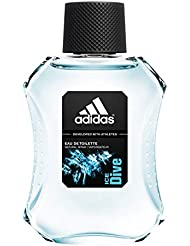 adidas Ice Dive Men EDT Spray 100.0 ml, 1er Pack (1 x 100 ml)