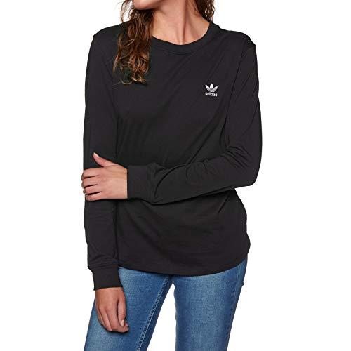 adidas Sc LS Shirt, Damen, Damen, DH2752, Schwarz, 42