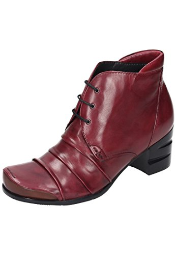 Everybody sangria bottines femme Rouge - Rouge