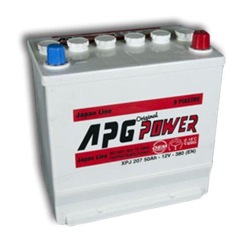 APG XPJ207 ORIGINAL JAPAN LINE - Batteria auto, 50Ah