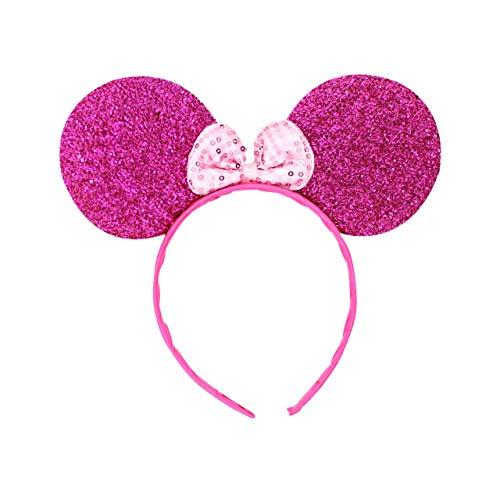Kostüm Lila Maus - Micky Minnie Maus Ohren, Haarband, Haarband, Kostüm, Lila