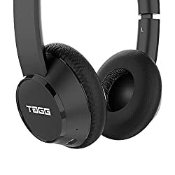 TAGG PowerBASS 400 Wireless Bluetooth On-Ear Headphones with Microphone [New Release]