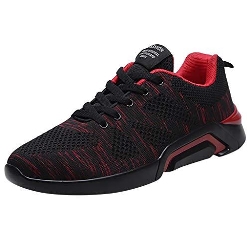 Binggong Unisex Sneakers Paar Fitnessschuhe Laufschuhe Atmungsaktiv Comfort Sportschuhe Rutschfeste Turnschuhe Outdoorschuhe