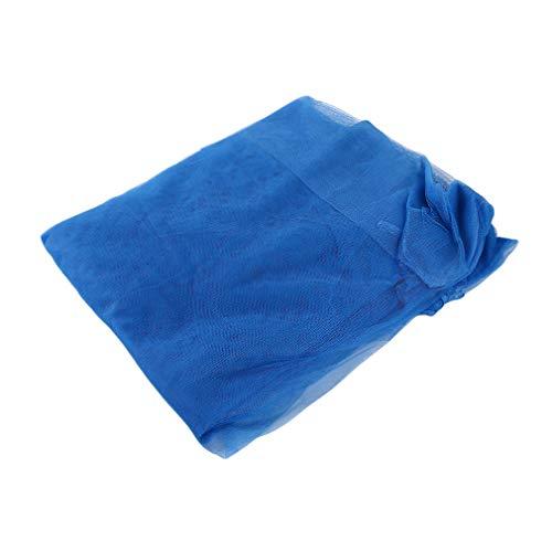 Jixing Moskitonetz Polyester Sommer Zimmer Mesh Net für Camping Bett Startseite Outdoor Supplies, In blau, L * W * H 200 * 150 * 165cm