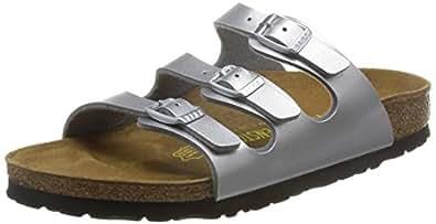 Birkenstock Florida, Women's Sandals, Argent, 5 UK