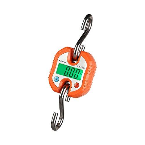 Sharplace Digitale Waage Zum Aufhängen mit Angelhaken für Gepäck 150kg / 50g