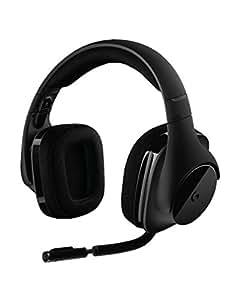 Logitech G533 Gaming-Headset (kabelloser DTS 7.1 Surround-Sound) schwarz