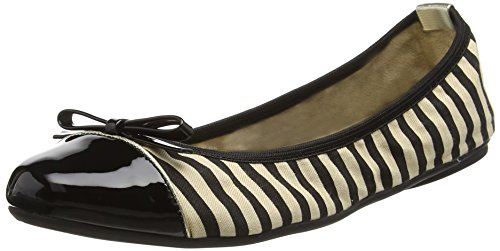 Butterfly Twists Damen Ballerinas Ballerinas Cara, Black (black-041), Gr. 37 (UK: 4)