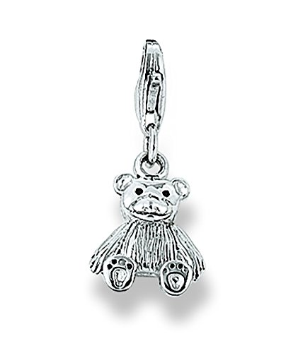 r Bettelarmband Silberschmuck Damen Charms Teddybär (Große Teddybären Billig)