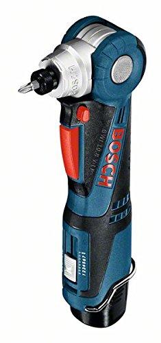 Preisvergleich Produktbild Bosch Professional GWI 12V-5 Akku-Winkelschrauber (2x 2, 0 Ah, 5 Kopfpositionen, 12V, L-BOXX) 0601360U0D