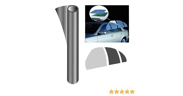 Trillogy PC-2209DSR colore: Grigio fumo scuro Pellicola oscurante pretagliata kit per lunotto e finestrini posteriori