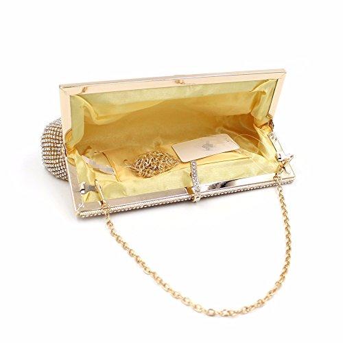 KAFEI Donne Borsa serale Holding Hands evento/festa&Sera Club stagioni DiamondAll ,l'Oro Gold