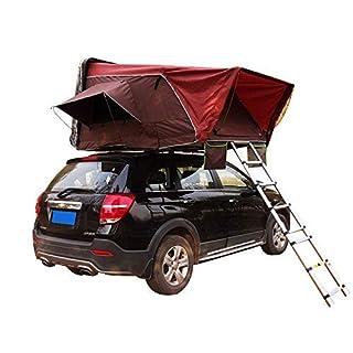 LQZHP Dachzelt Auto für 2-3 Personen für PKW, LKW, SUV, Camping, Reise, mobiles Auto, Sonnenschutz, Baldachin, Wohnmobil