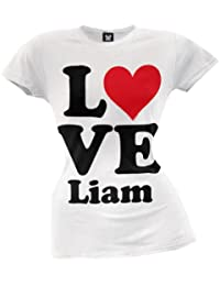 One Direction - Heart Liam Juniors T-Shirt