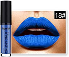 LHWY Impermeable LíQuido Mate Lip Gloss Labial De Larga Duración 18#