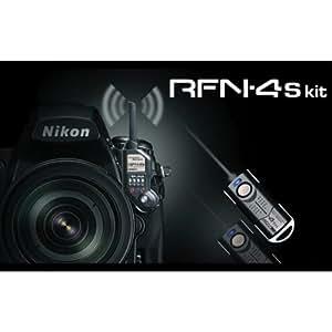 SMDV Funkauslöser RFN-4s kit für Nikon (2,4GHz, Reichweite 100m, 16 Kanäle) für Nikon D1 D2 D3 D3s D3x D4 D800 D700 D300 D300s D200 F100 F90 F6 F5 (D100 nur mit Batteriegriff)