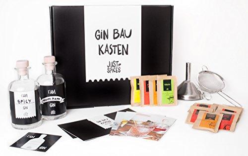 Gin Set von Just Spices - Gin mit Gewürzen selber machen - Der Gin Baukasten - Das perfekte Geschenk für Männer Test
