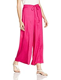 Ayaany Women Regular Fit Flared Cotton palazzo