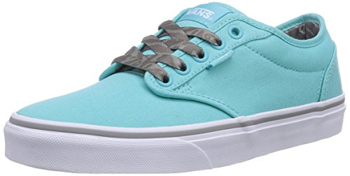 Vans - Atwood, Sneaker basse Donna Turchese (Türkis ((Animal)Blue Ra F6K))