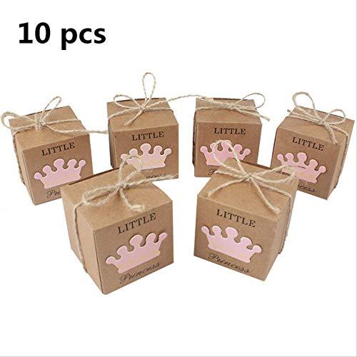 ZMDA Geschenktüte Papier Candy Geschenk Box Taschen Ananas Obst Dessert Taschen Geschenk Für Gäste Baby Hochzeit Geburtstag PartyViolett