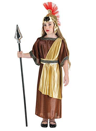 Kostüm Athena Zubehör Göttin - Clown Republic- Göttin Athéna Kostüm, Mädchen, 85806/06, mehrfarbig