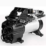 BCCDP Compressori automobilistici Portatili | Due compressori d'Aria con interfaccia di Ricarica, Tubo Flessibile Aria esteso 3M, SUV/Camion/Camion/Motociclo/Pallone