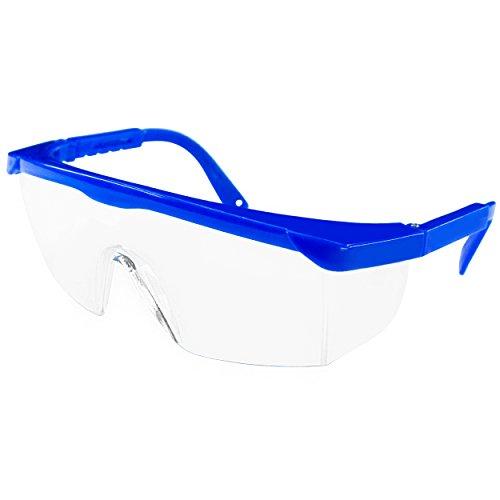 gafas-de-seguridad-con-elegante-marco-azul-y-integrado-sideshields-para-proteccion-frontal-y-lateral