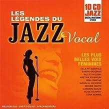 Coffret 10 CD : Les Legendes Du Jazz Vocal