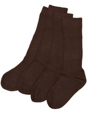 PEX Knee High Wool Socks - Medallion 2 Pairs - Calcetines para niñas