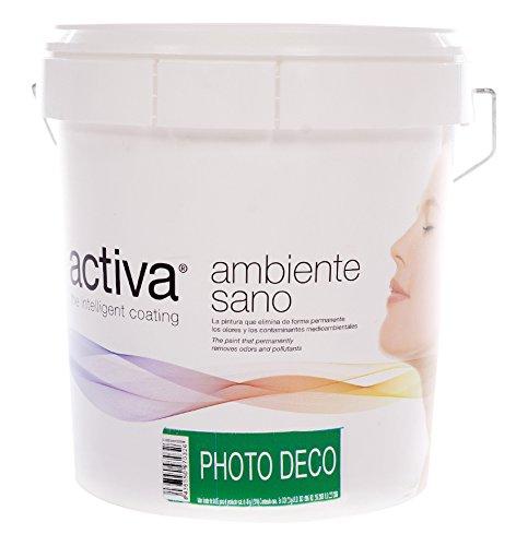 Activa PDNaMand4 PhotoDeco Pintura Foto Catalítica Lavable, 4 l, Color Naranja Mandarina