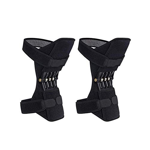 ViXiLin Knie-Booster, Beste Klammer für Männer und Frauen - Unterstützung für Laufen, Basketball, Gewichtheben, Fitness, Workout, Sport usw. -