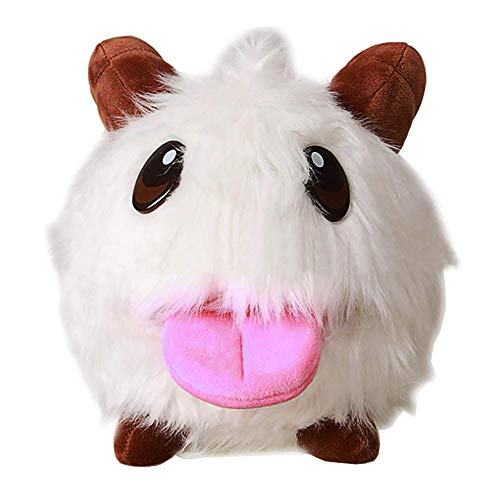 Kostüm Plüschtier Qualität - Mesky Plush Poro League of Legend Accessory Toy for Children Cosplay Christmas Ornament PU