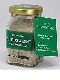 All Natural Citrus Mint Demerara Sugar