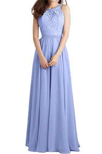 ivyd ressing robe populaire dentelle et mousseline de longueur A ligne Prom robe fixe Soirée Party robe robe Lavande